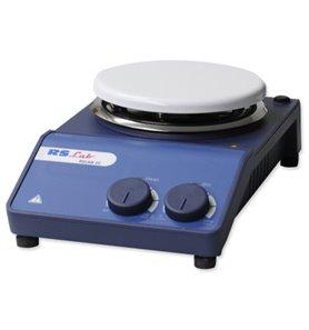 Agitador analógico c/calefacción RSLAB-1C, ceram.